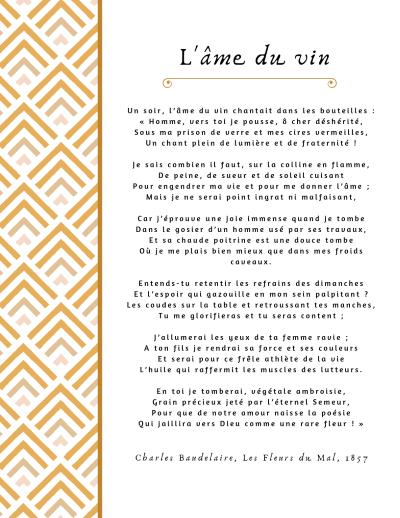 L'Âme du Vin, Charles Baudelaire